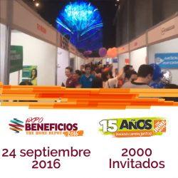 Expo Beneficios 2016 y 15 Aniversario empresa HOME DEPOT