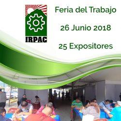 Feria del Trabajo 2018 de IRPAC